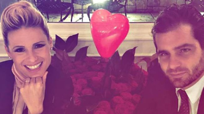 Michelle Hunziker e  Tomaso Trussardi (Foto Instagram