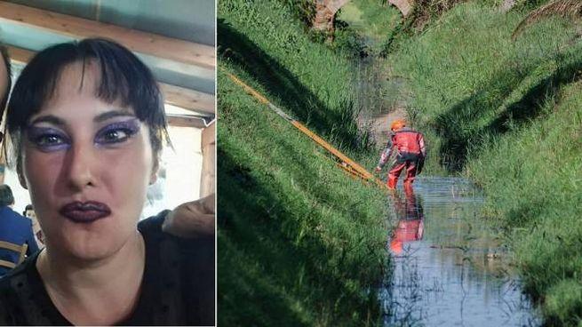 Maria Tanina Momilia e il luogo dove è stato ritrovato il suo corpo (Ansa)