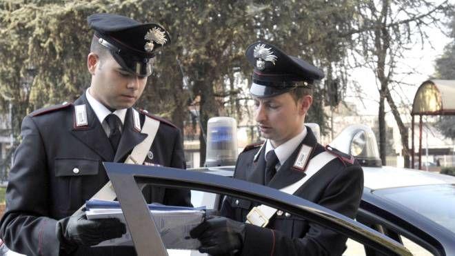 Carabinieri al lavoro