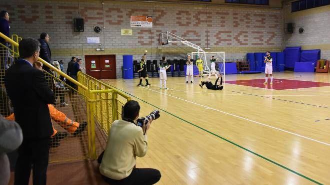Il palazzetto dello sport di Sedriano