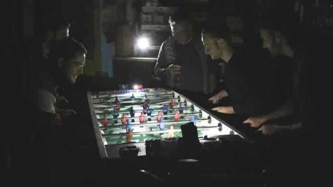 Si gioca al buio