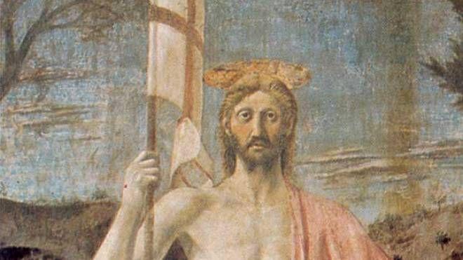 Il Cristo della Resurrezione di Piero della Francesca