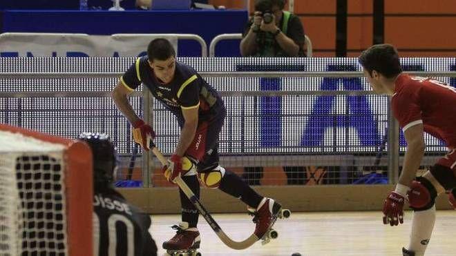 Hockey pista, immagine di repertorio