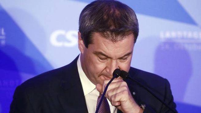 Il candidato della Csu in Baviera, Markus Soeder (Ansa)