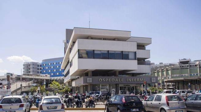 Rimini, l'ospedale Infermi (Foto di repertorio PasqualeBove)