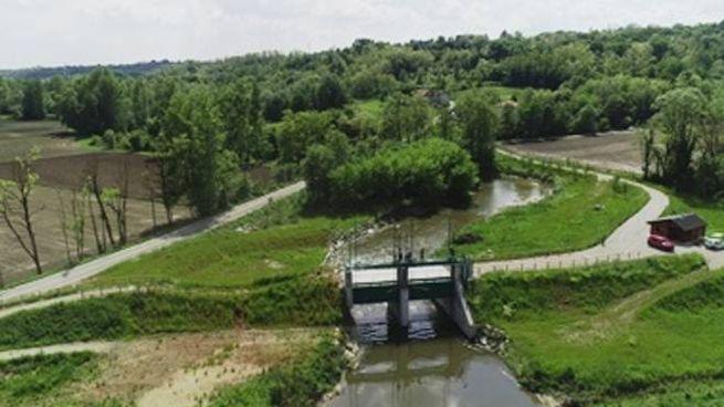 La nuova diga delle Fornaci