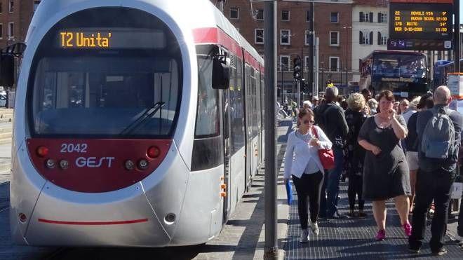 Tramvia a Firenze (foto repertorio)