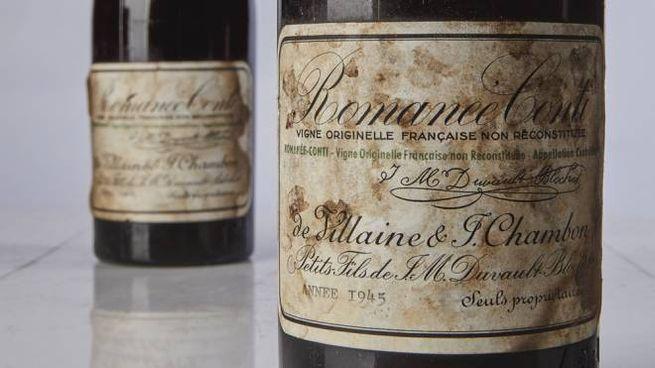 Le bottiglie da record di Romanée-Conti 1945 - Foto: www.sothebys.com