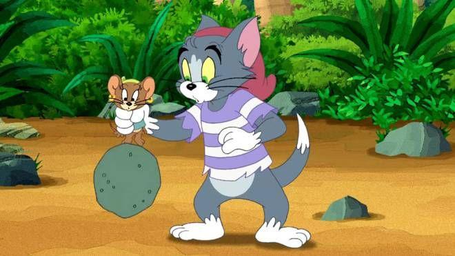 Una scena del film 'Tom & Jerry all'arrembaggio'