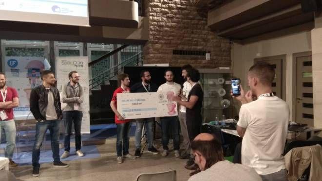 La premiazione della Soccer Data Challenge