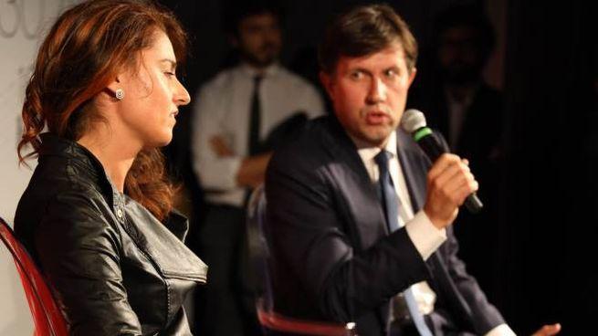 Dario Nardella e Susanna Ceccardi