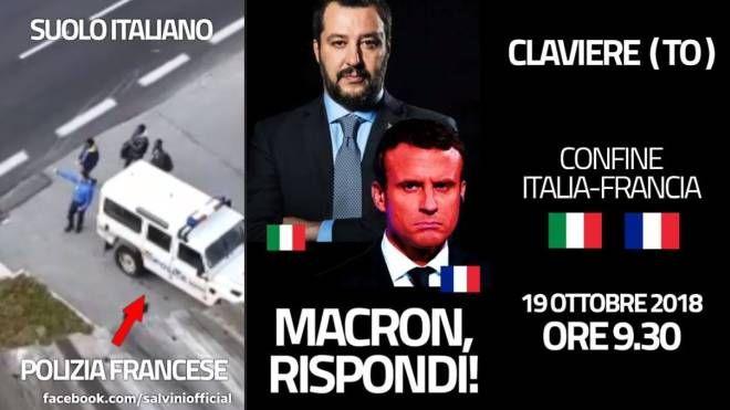 Claviere, la gendarmerie scarica immigrati. Il video postato da Salvini