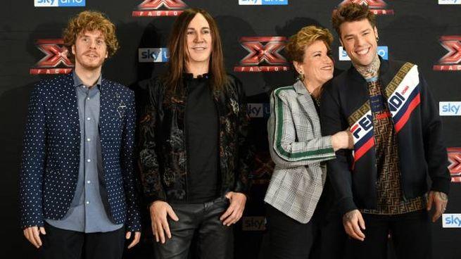 I giudici di X Factor 2018 (LaPresse)