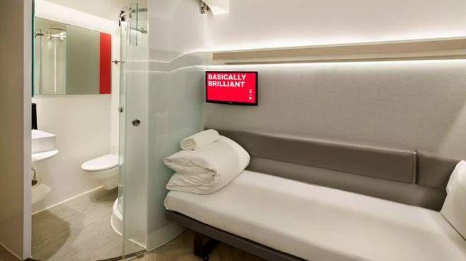 La camera-capsula dell'hotel ZIP by Premier Inn - Foto: www.premierinn.com