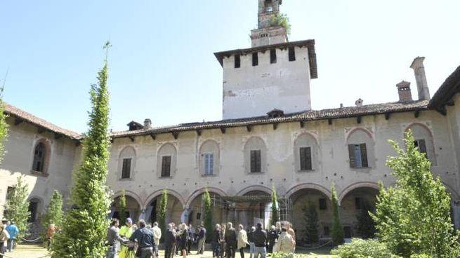 Il castello visconteo di Cusago oggi avvolto dall'oblio