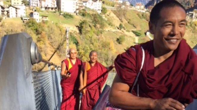 I monaci sul ponte