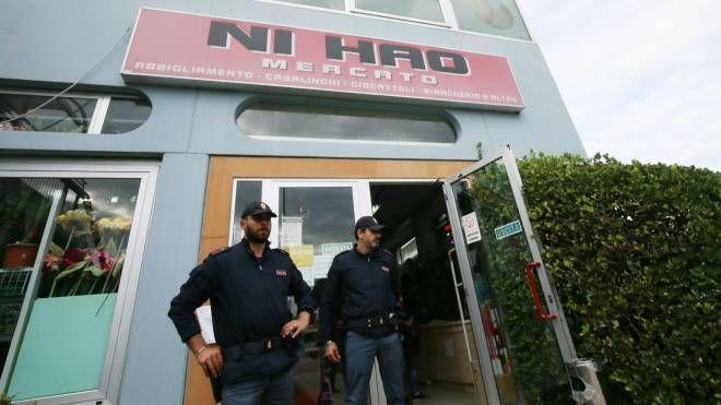 Ni Hao, l'emporio cinese rapinato (Fotoprint)