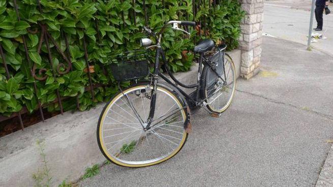 Incidente a Rovigo, ciclista investito da un'auto (Foto Donzelli)