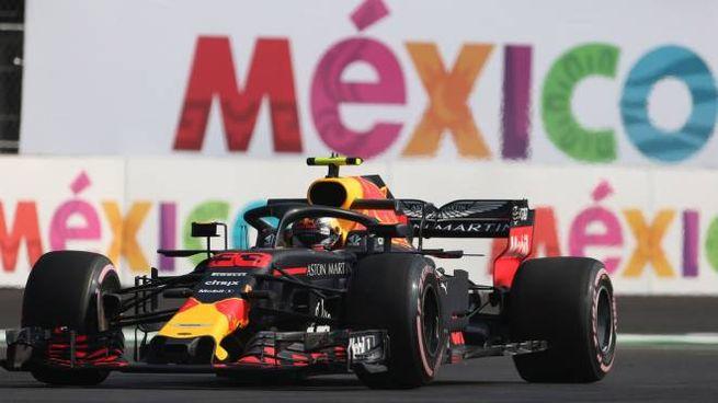 La Red Bull di Verstappen in Messico (Lapresse)