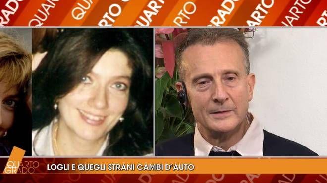 """Antonio Logli durante la puntata di """"Quarto Grado"""" del 26 ottobre"""