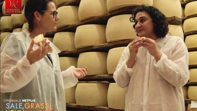 Il Parmigiano Reggiano Vacche Rosse sbarca su Netflix