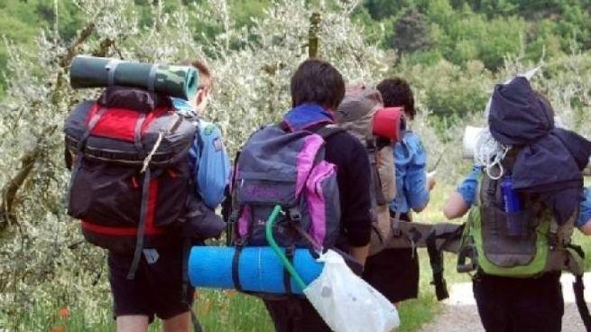 Un gruppo di scout