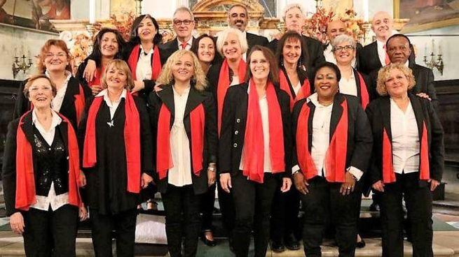 Una delle più recenti formazioni del Coro Gospel Internazionale di Pistoia