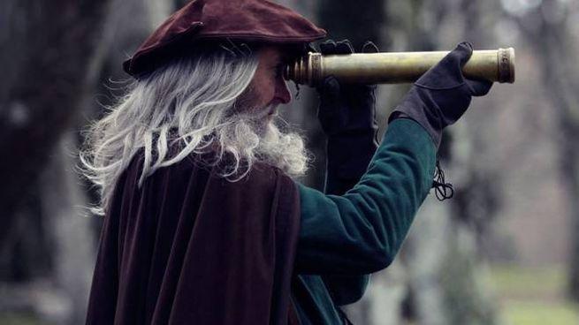 Il docu-film su Da Vinci girato nel bosco di Canfaito
