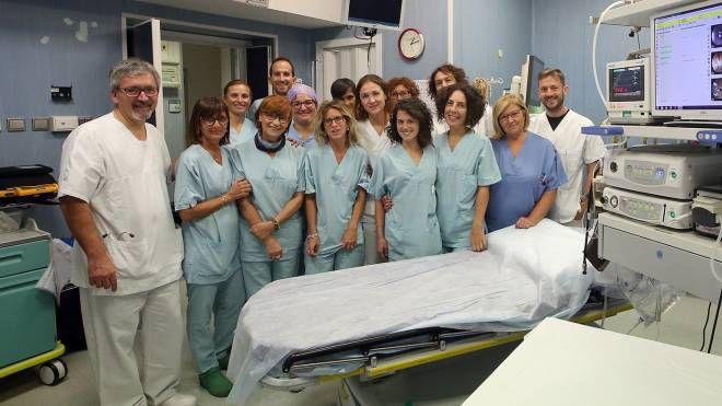 IN REPARTO Lo staff di gastroenterologia