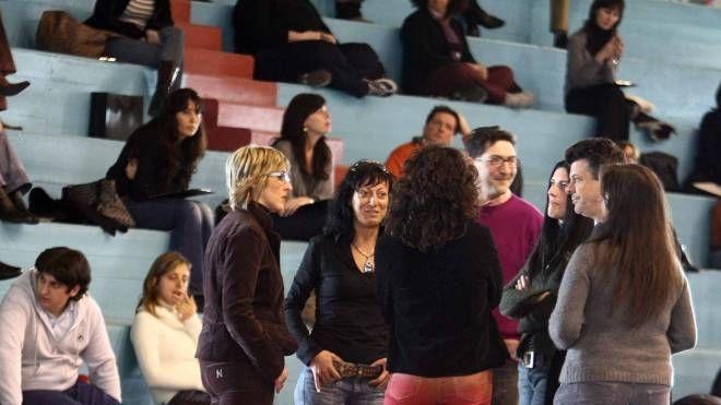 Candidati in attesa dell'inizio di un concorso comunale (Foto d'archivio)