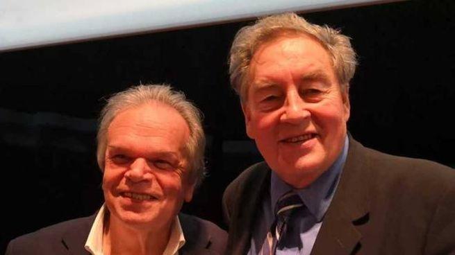 Paul Connett con il sindaco di Montemurlo Mauro Lorenzini