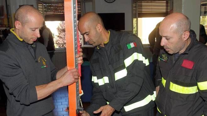 Il sopralluogo è stato svolto dai vigili del fuoco (foto d'archivio)