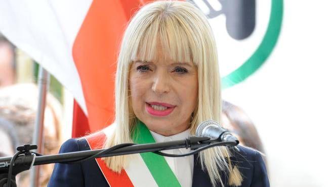 San Severino, il sindaco Rosa Piermattei (Foto Calavita)