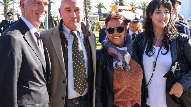 Civitanova: Gabrielli, all'inaugurazione del parco Zucchetto (foto De Marco)
