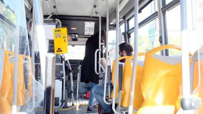 Ascoli: la navetta ieri mattina, il nostro cronista e pochi passeggeri (La Bolognese)