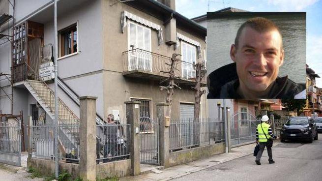 Pier Claudio Mangherini, 36 anni, stava lavorando a una casa