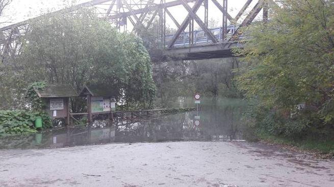 Il Po al ponte della Becca (Torres)