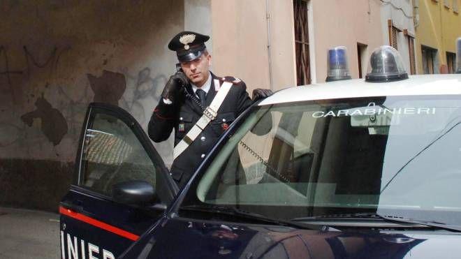 I carabinieri hanno fermato l'uomo
