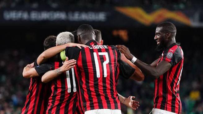 Betis Siviglia-Milan 1-1