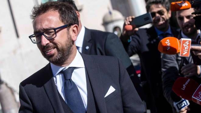 Alfonso Bonafede, ministro della Giustizia (ImagoE)
