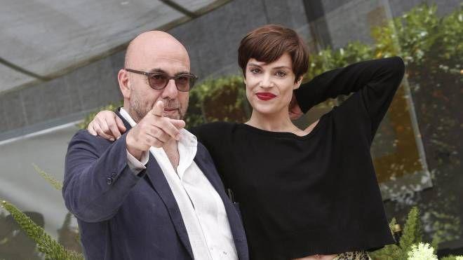 Paolo Virzì e Micaela Ramazzotti (Ansa)