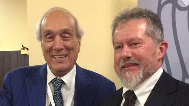 L'ex commissario Floriano Botta col neopresidente Andrea Maremonti