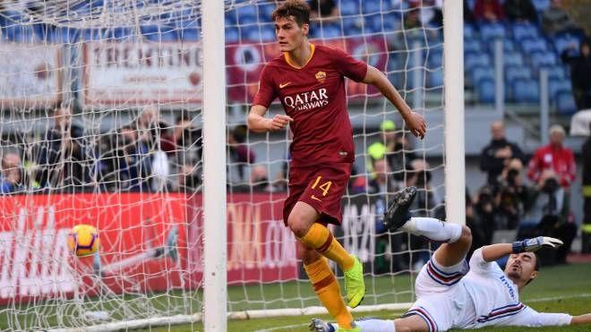 Schick in Roma-Sampdoria