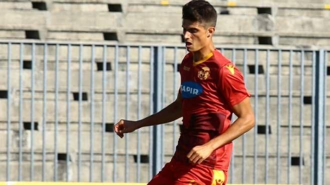 Giorgio Siani, autore del gol che ha permesso al Ravenna strappare un punto a Fano