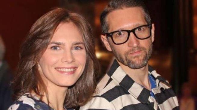 Amanda Knox, 31 anni, con il fidanzato Christopher Robinson