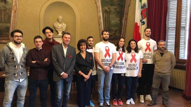 La presentazione delle iniziative contro l'Hiv