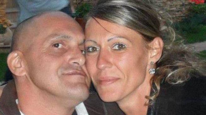 Gianfranco Zani con la ex compagna