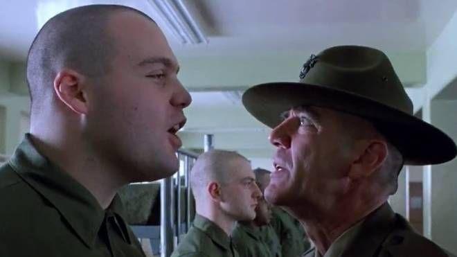 Il soldato 'Palla di lardo' in Full Metal Jacket di Stanley Kubrick