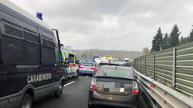 Incidente sulla Firenze-Pisa-Livorno