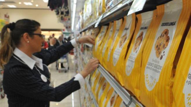 Un supermercato Esselunga (Newpress)